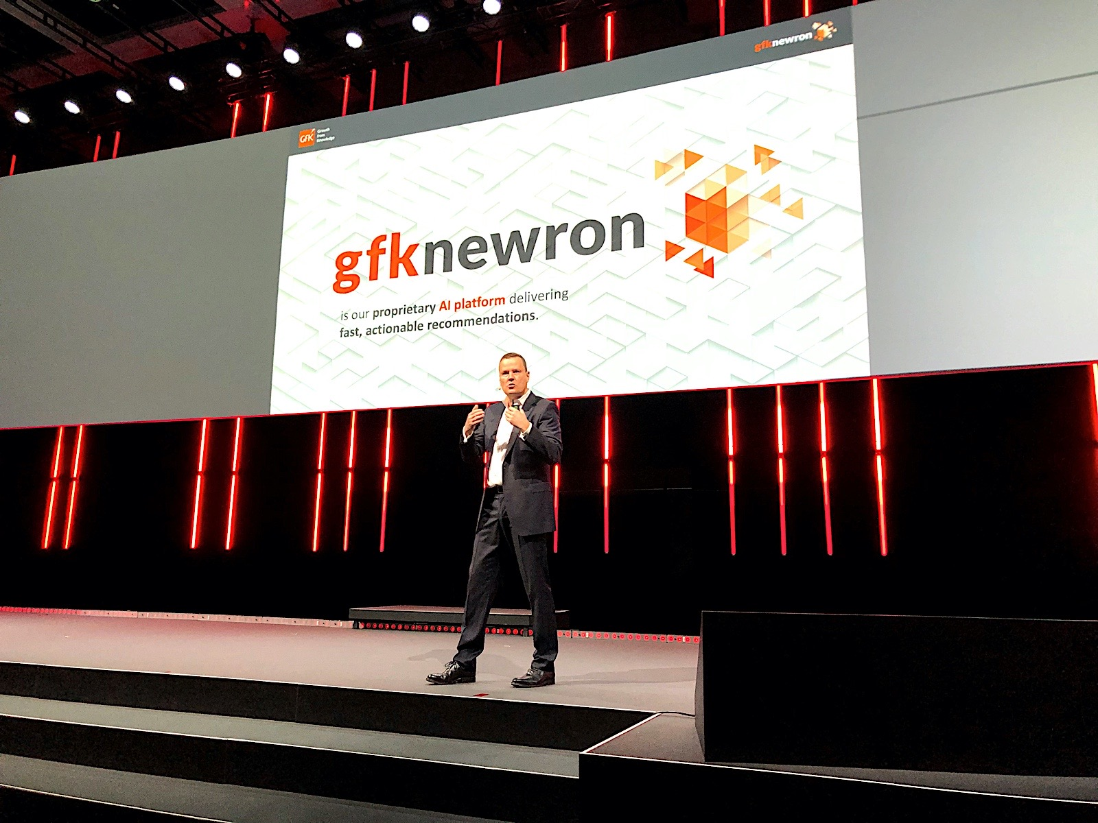 Peter Feld, GfK CEO, is opening IFA 2020 on Sep 3