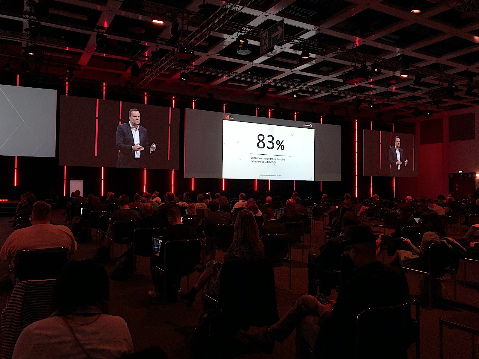 GfK CEO Peter Feld on Sep 3 at IFA 2020