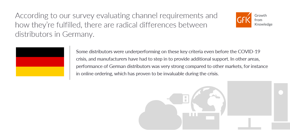 Distributor performance based on channel requirements in Germany