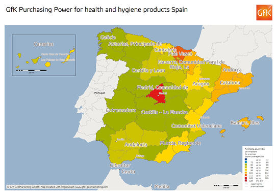 Spain Provinces 02 health and hygiene products index_1