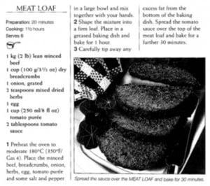 figure 1 - recipe