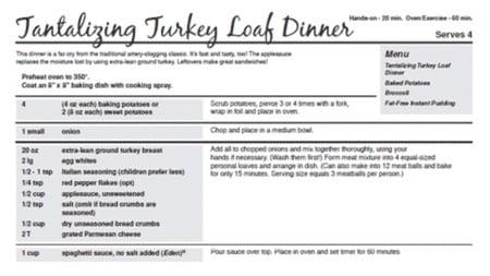 Figure 2 - recipe