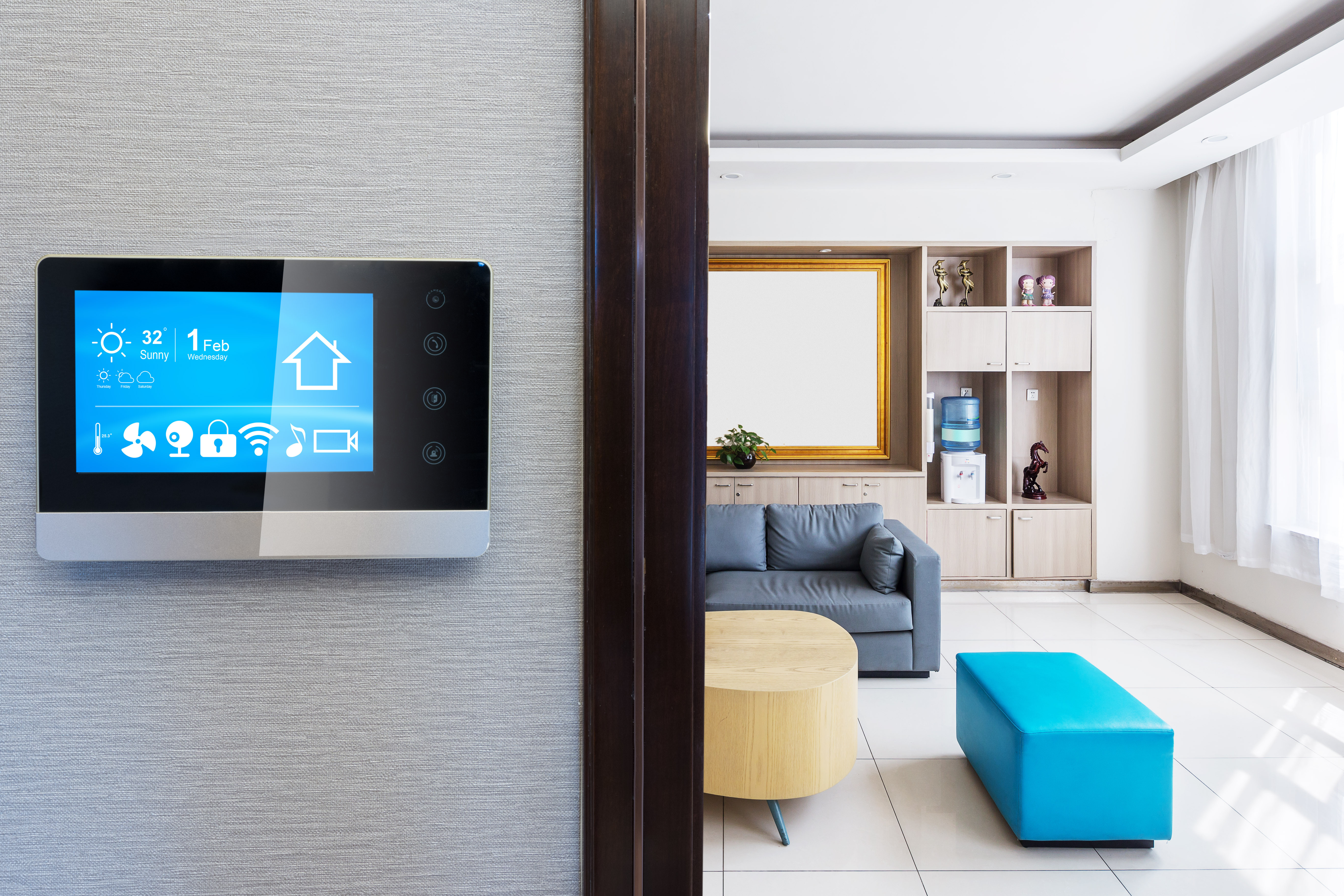 Intelligent touch screens will be more prevalent in the smart homes of tomorrow