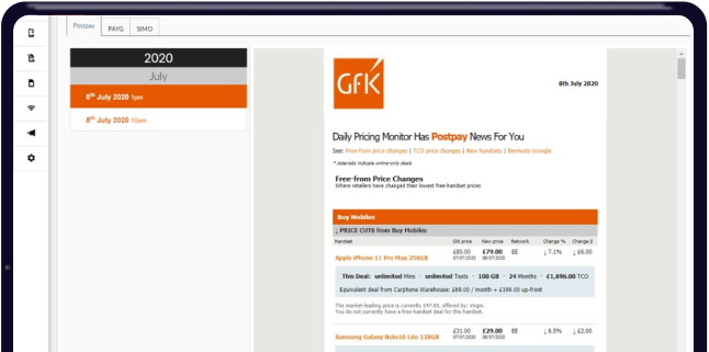 GfK Daily Pricing Monitor | GfK Chinese